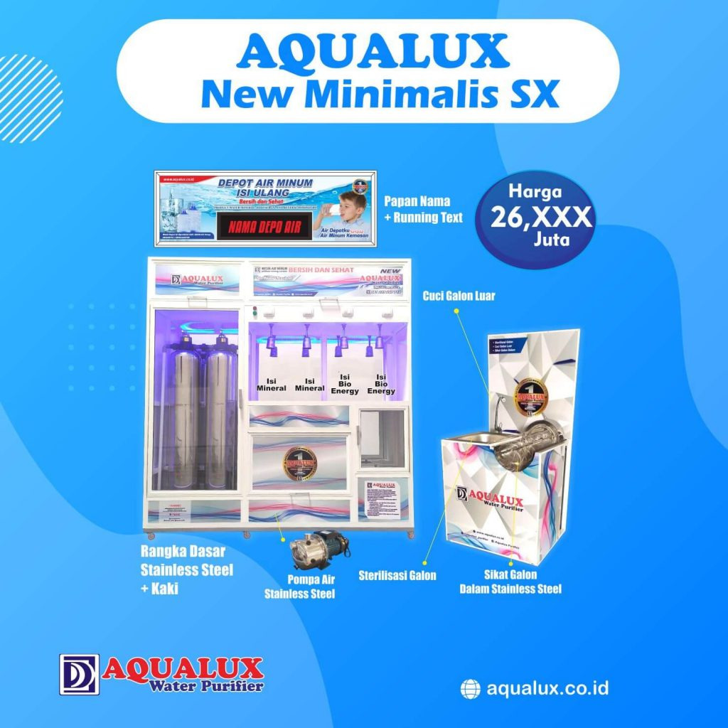 Aqualux - New Minimalis SX