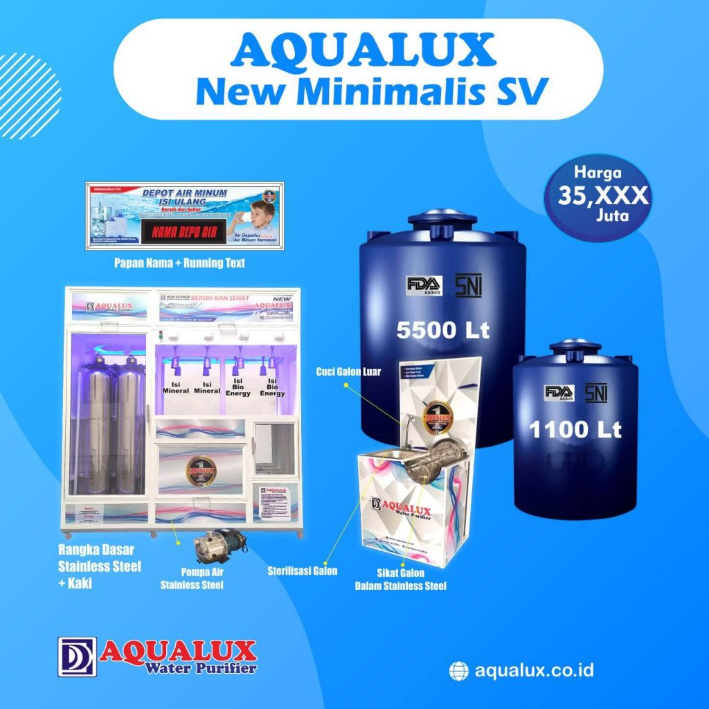 Aqualux - New Minimalis SV