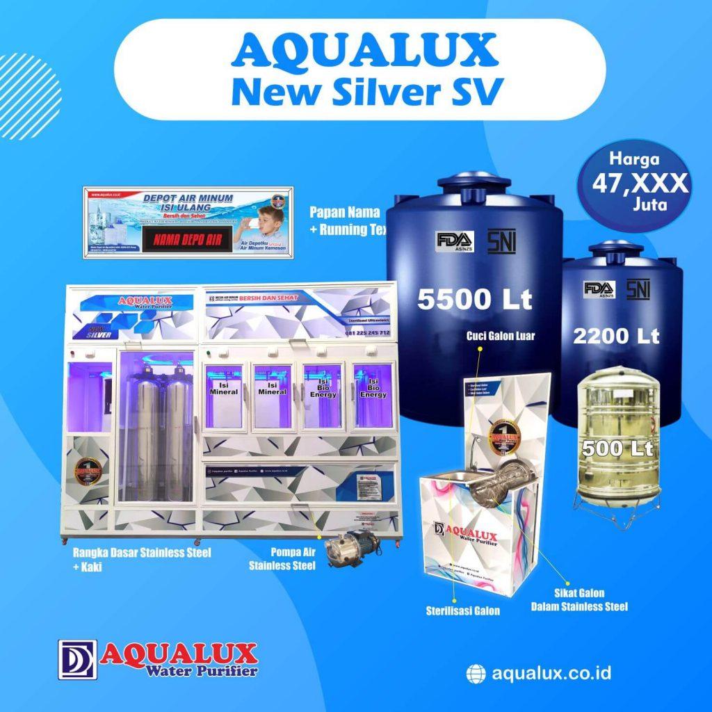 Aqualux - New Silver SV