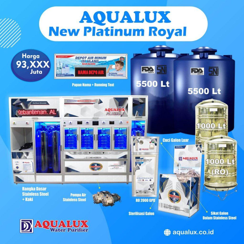 Aqualux - New Platinum Royal